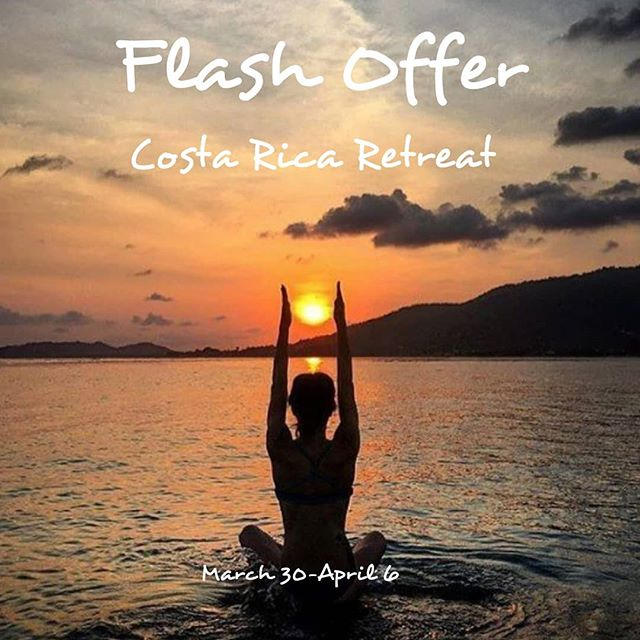 🧘♀️🏄♂️🧘♂️FLASH OFFER🧘♂️🏄♂️🧘♀️ . . . Be the hero of your epic yoga vacation and sign up for the greatest vacation deal you have ever heard of. Jay and I will be your guides for 7 epic days of yoga, surf and more. 7 days for you to chillax with no stress of daily life. 🧘♀️🏄♂️🧘♂️ . . . 🏖2 New Spaces have opened up in an adjacent property to the retreat center. A beautiful space with it's own private pool. 🏖Everything included except for flights & travel insurance. 🏖$1598 total. ➡️➡️➡️➡️sign up here⬅️⬅️⬅️⬅️⬅️ Link in bio or go straight to venmo.com @EricaArce to put in your $1598.00 payment.  Dont miss this offer that will never come back around. Offer ends on my bday! Feb 20. . . .  #beachbum #travellife #travelwithme #wanderfolk #yogaretreat #surfing #beachyoga #costarica @bodhitreeyogaresort #nosara #wellpreneur #travelmania #beachlife🌴 #sunset #discoverocean